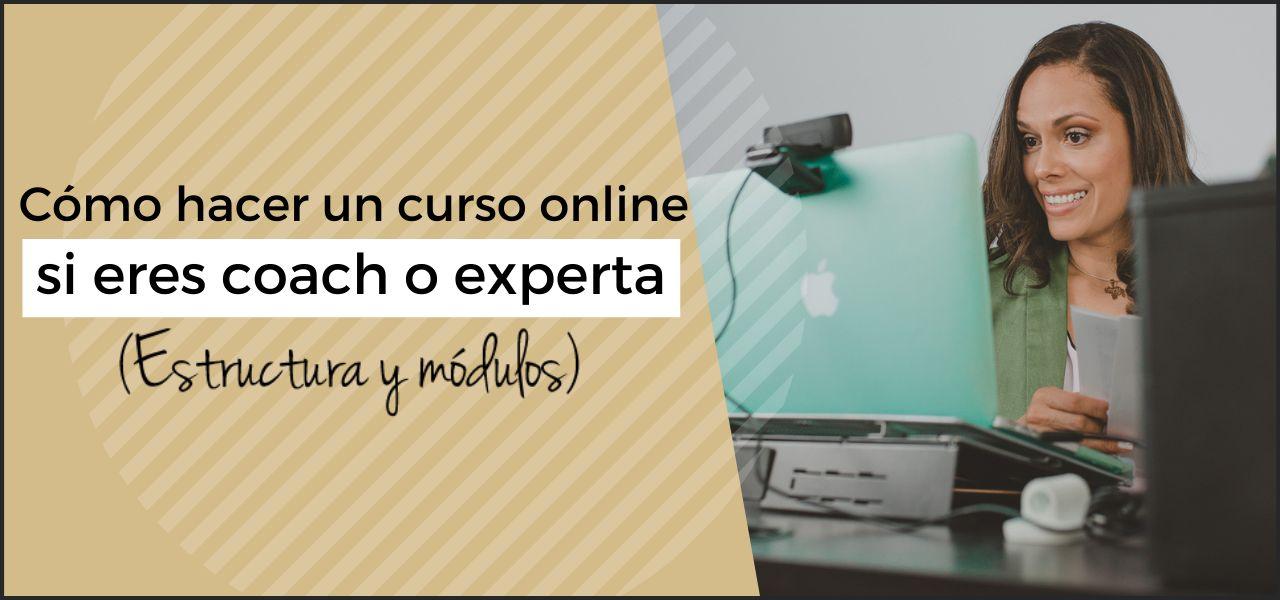 como hacer un curso online